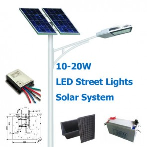 10-20W Solar Street Lights System