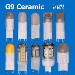 Ceramic Material G9 LED Bulb