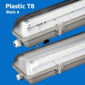Plastic T8 Waterproof Lighting