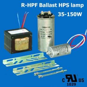 HPS lamp R-HPF Ballast UL cUL listed