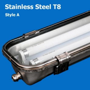Stainless Steel T8 Waterproof Lighting