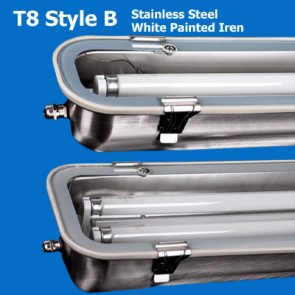 Stainless Steel T8 Waterproof Lights