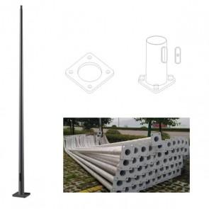 Step/necked pole